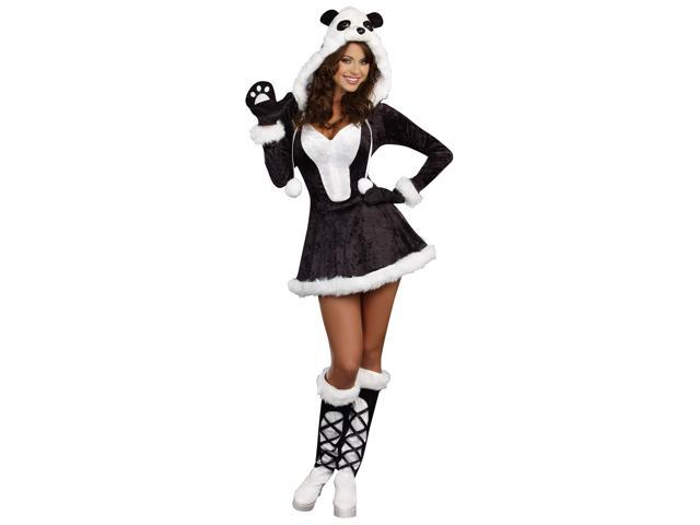 Womens Panda Bear Baby Costume