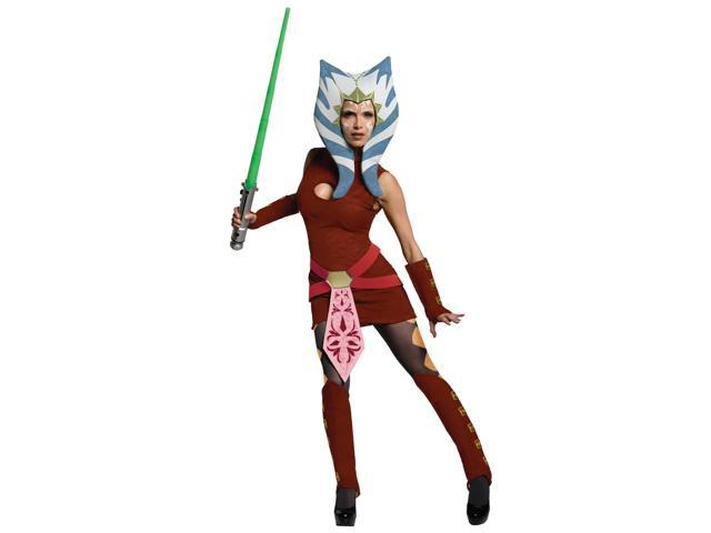 Star Wars The Clone Wars Ahsoka Adult Costume - Red - Standard