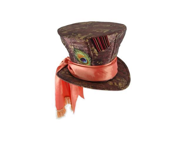 Disneys Alice In Wonderland Mad Hatter Adult Costume Hat