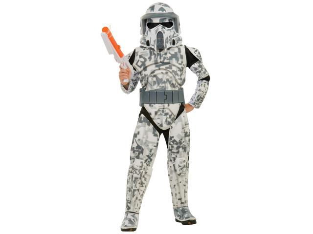 Star Wars Clone Wars Season 3 Deluxe Arf Trooper Costume Child Large