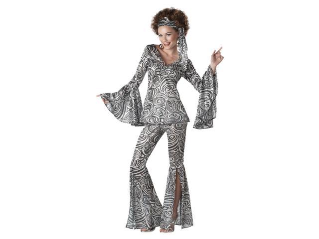 Womens Retro 70'S Disco Foxy Lady Halloween Costume