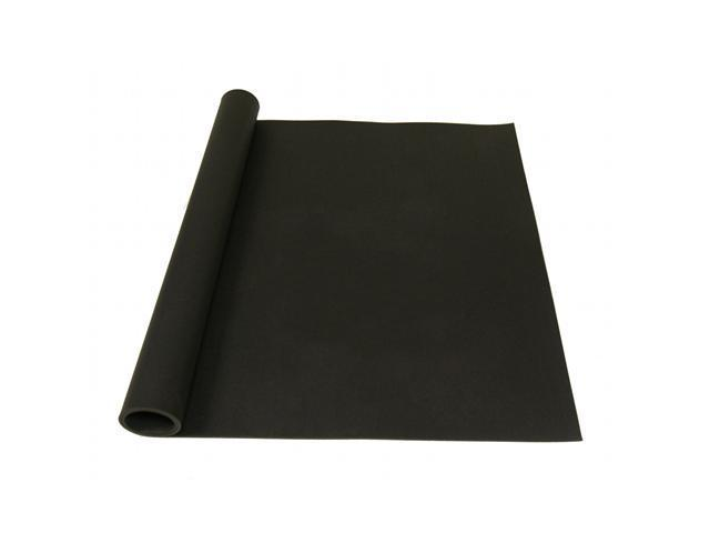 Rubber-Cal Elephant Bark Rubber Flooring - 1/4 inch Thick - Black