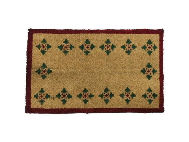 Bordeaux Decorative Coco Doormat - 18