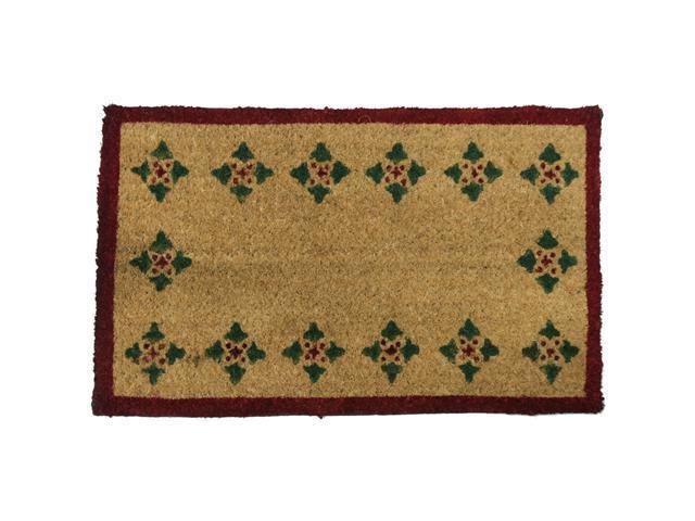 Bordeaux Decorative Coco Doormat - 18
