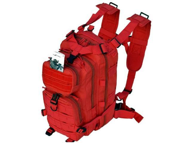 Every Day Carry B3 Tactical Assault Molle Backpack for Women - Red