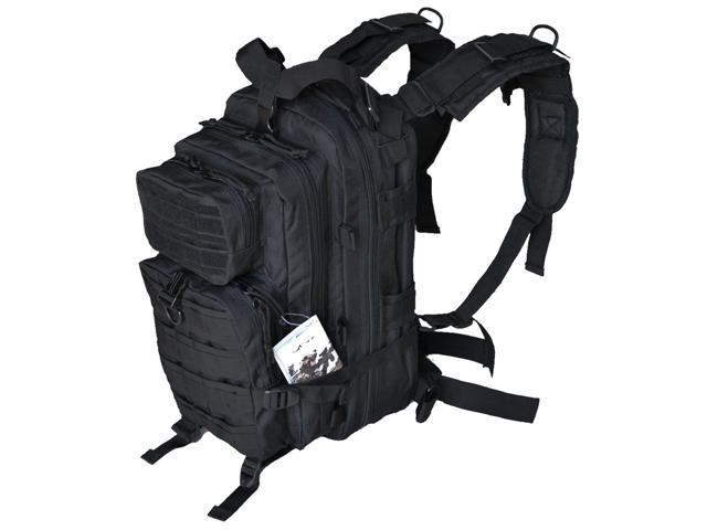Every Day Carry B3-BK Tactical Assault Bag EDC Day Pack Backpack w/ Molle Webbing - Black