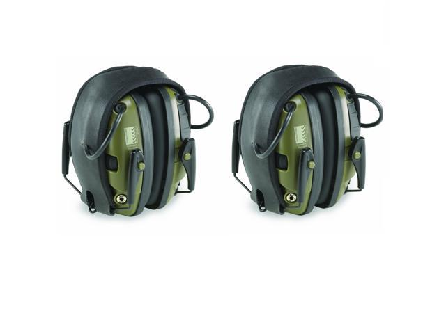 Howard Leight R-01526 Impact Sport Electronic Earmuff Ear Protection - 2 Pack