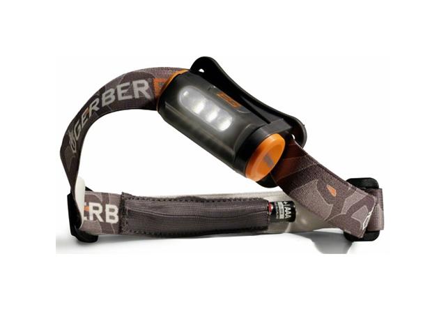 Gerber Bear Grylls Hands Free Torch 25 Lumens LED Headlamp w/Batteries 31-001028