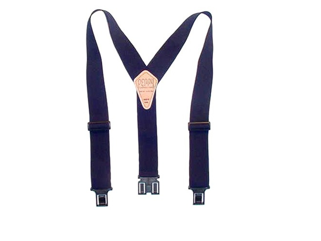 Perry Hook-On Belt Suspenders Big N Tall - The Original - Navy - 2
