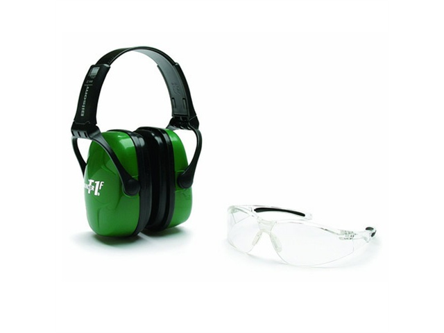 New Howard Leight Shooting Safety Combo Kit Earmuff and Eyewear R-01761