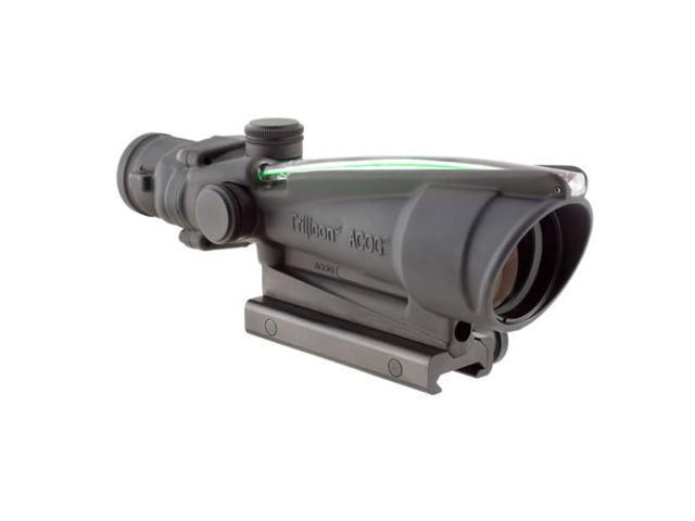 Trijicon TA11E-G ACOG 3.5x35 .308 BAC Riflescope Dual Illuminated Green Chevron