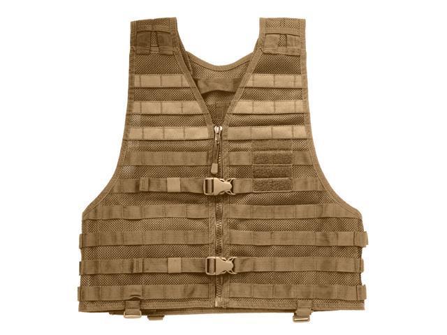 5.11 Tactical VTAC LBE Vest - Sandstone - 58631 - Size REG