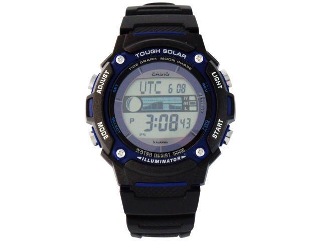 Casio Tough Solar Tide/Moon Data Digital Grey Dial Men's watch #WS210H-1AV