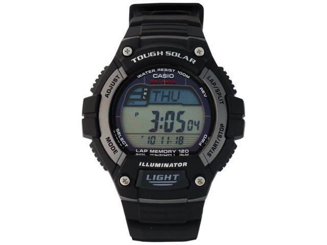Casio Men's Solar Runner Tough Solar Multi-Function Runner Watch - WS220-1A