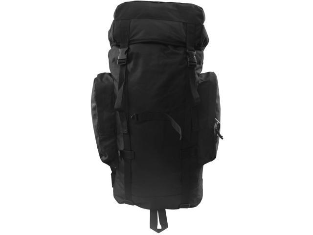 Every Day Carry Heavy Duty Day Pack Backpack For Mountaineer Hiking - Black - XL