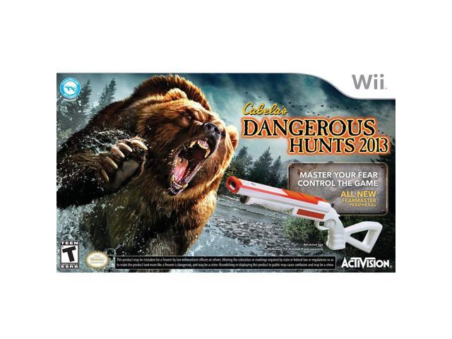 Cabela's Dangerous Hunts 2013 with 2 Guns (Wii)