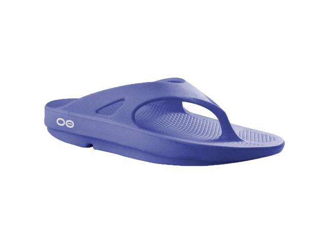 OOFOS OOriginal Impact Absorption Recovery Thong Sandals Periwinkle Size M4/W6