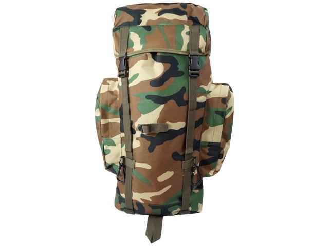 Every Day Carry Heavy Duty Mountaineer Hiking Backpack - Camo - XL