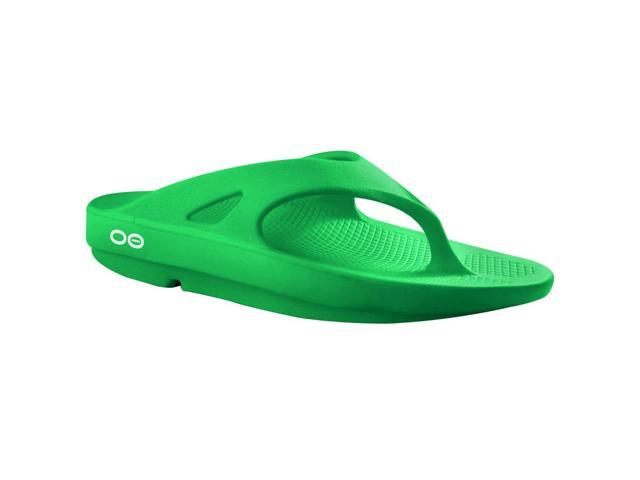 OOFOS OOriginal Impact Absorption Recovery Thong Sandals - Seafoam - Size M5W7