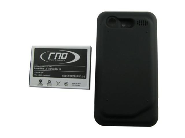 RND Extended High Capacity Lithium-Ion Battery (35H00142-04M) + Back Cover for HTC Droid Incredible 2 and Droid Incredible ...