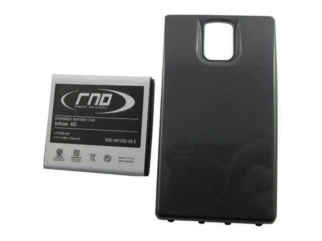 RND Extended High Capacity Lithium-Ion Battery (EB555157VA) + Back Cover for Samsung Infuse 4G