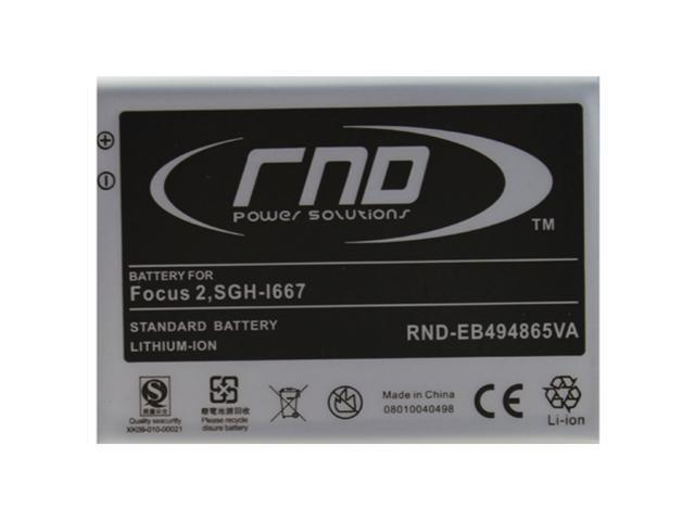 RND Li-Ion Battery (EB494865VA) for Samsung Focus 2