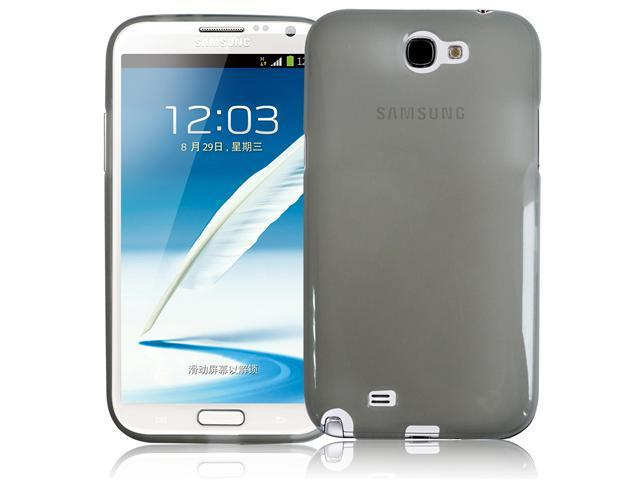 RND TPU Protective Case for Samsung Galaxy Note II(2) (Transparent Grey)