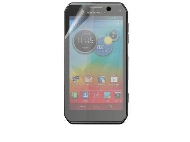 RND 3 Screen Protectors for Motorola Photon Q 4G LTE (Anti-Fingerprint/Anti-Glare - Matte Finish) with lint cleaning cloths