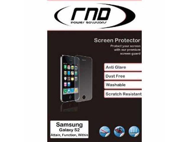 RND 3 Screen Protectors for Samsung Galaxy S II (2) (International Version Only) (Anti-Fingerprint/Anti-Glare - Matte Finish) ...