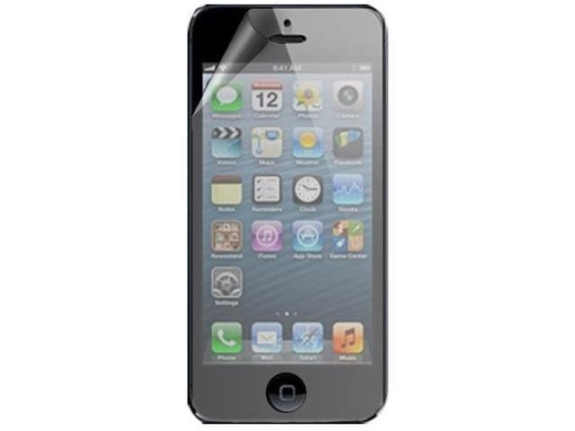 RND 3 Screen Protectors for Apple iPhone 5 (Anti-Fingerprint/Anti-Glare - Matte Finish) with lint cleaning cloths