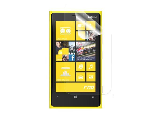RND 3 Screen Protectors for Nokia Lumia 920 (Anti-Fingerprint/Anti-Glare - Matte Finish) with lint cleaning cloths