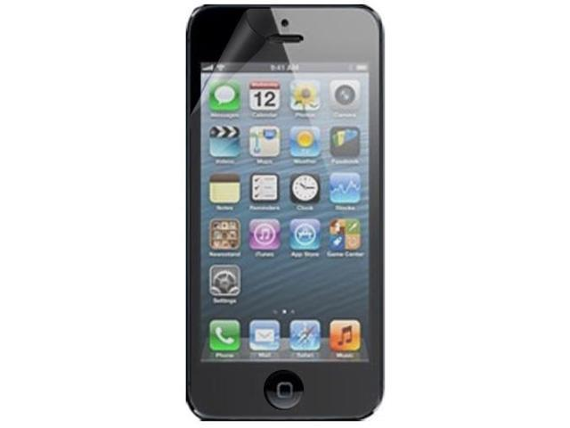 RND 3 Screen Protectors for Apple iPhone 5 (Ultra Crystal Clear) with lint cleaning cloths
