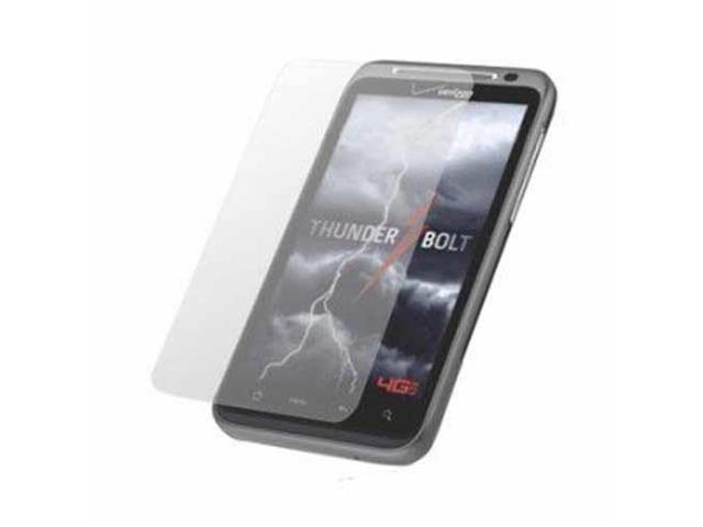 RND 3 Screen Protectors for HTC Thunderbolt 4G (Ultra Crystal Clear) with lint cleaning cloths