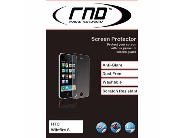 RND 3 Screen Protectors for HTC WildFile S (Anti-Fingerprint/Anti-Glare - Matte Finish) with lint cleaning cloths