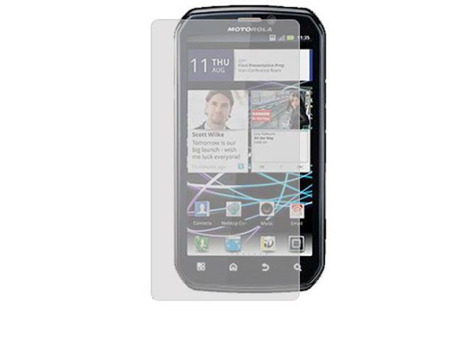 RND 3 Screen Protectors for Motorola Photon 4G (Anti-Fingerprint/Anti-Glare - Matte Finish) with lint cleaning cloths
