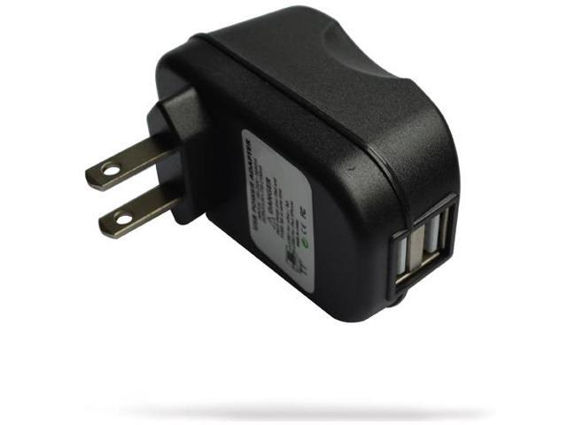 RND 2.4A fast dual USB AC adapter wall charger for Samsung Smartphones