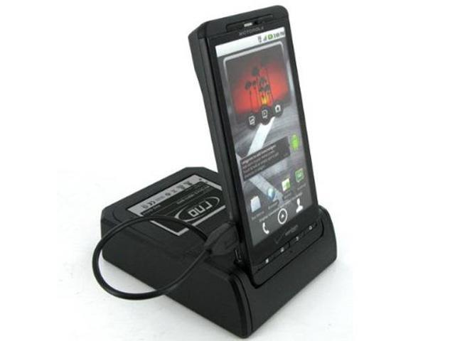 RND Dock and 2nd Battery Charger for Motorola Droid X & Droid X2