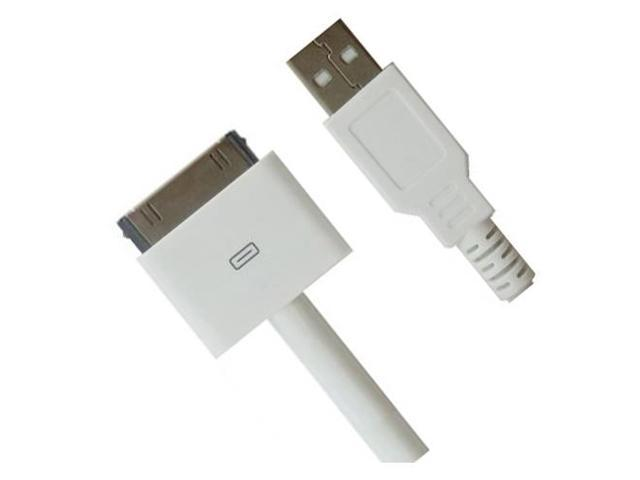 RND Apple CERTIFIED 30-Pin Cable for iPad  iPhone  iPod (10 feet/white)