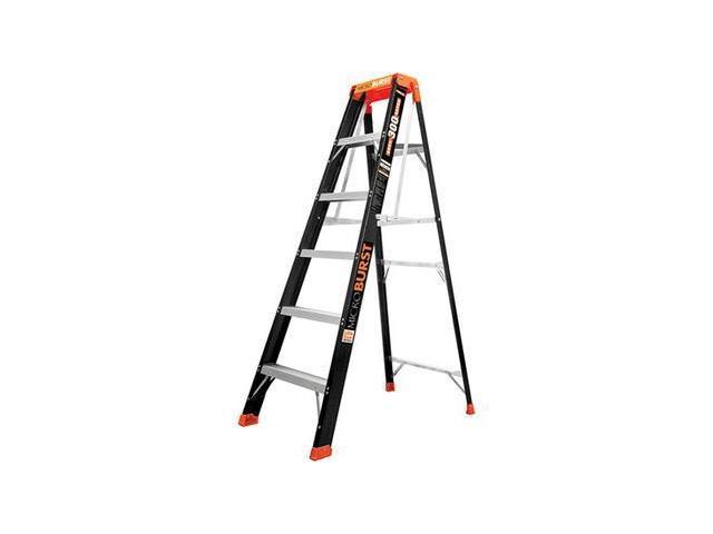 Multipurpose Ladder, 6 ft., IA, Fiberglass