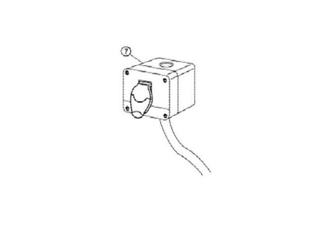 6294733 3520B Lathe Remote On-Off Switch