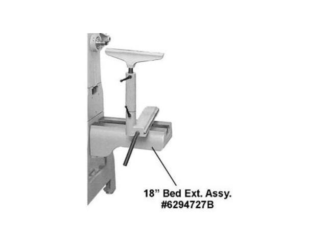 6294727B 3520B Lathe 18 in. Bed Extension Assembly