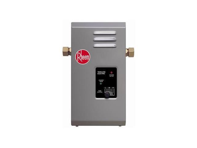 RHEEM RTE7 Electric Tankless Water Heater, 240VAC