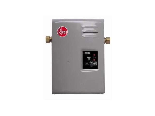RHEEM RTE13 Electric Tankless Water Heater, 240VAC
