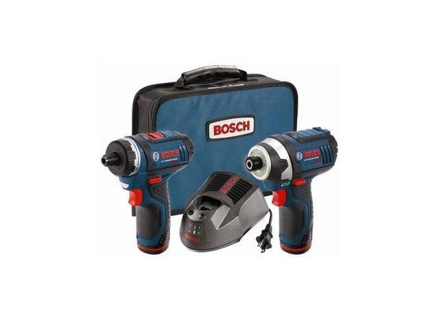 Cordless Combination Kit, Bosch, CLPK27-120