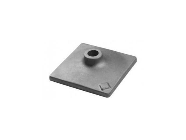 HS1828 Round Hex Shank 5 in. x 5 in. Tamper Plate