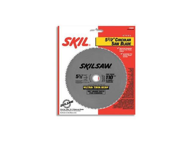 74501 5-1/2 in. 110-Tooth Steel Circular Saw Blade