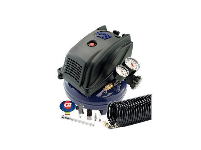 FP260000AV 1 Gallon Pancake Air Compressor with Inflation Kit
