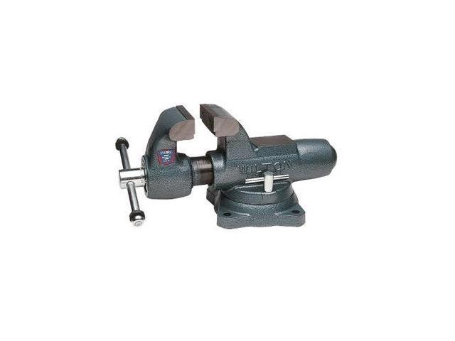 10036 800S, Machinists' Bench Vise - Swivel Base, 8 in. Jaw Width, 12 in. Jaw Opening, 5-13/16 in. Throat Depth