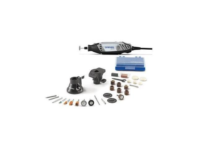 3000-2/28 120V 1.2 Amp Variable Speed Rotary Tool Kit with 2 Accessories and 28 Attachments