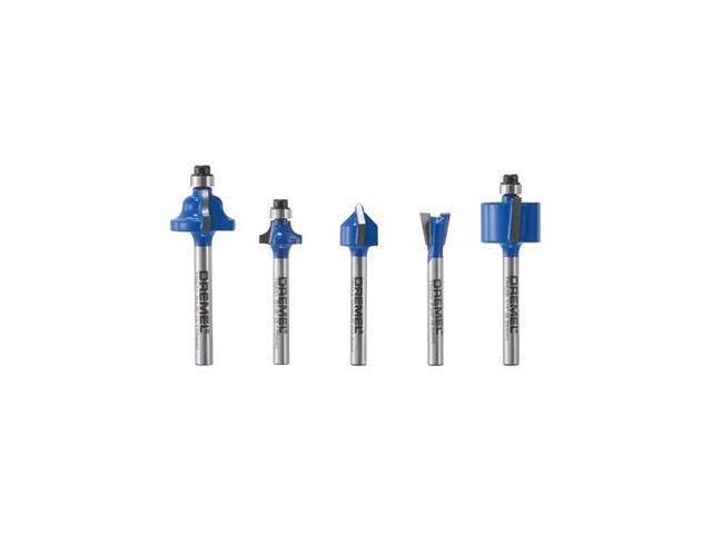 TR780 5-Piece Carbide Specialty Router Bit Set